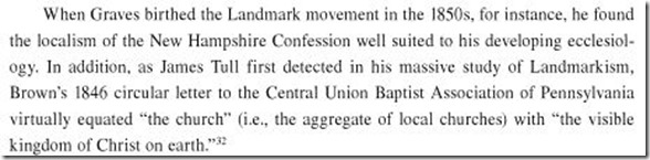 JamesAPatterson.James Robinson Graves Staking the Boundaries of Baptist Identity.p18
